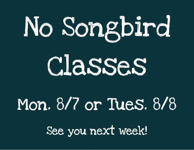 No Songbird Classes